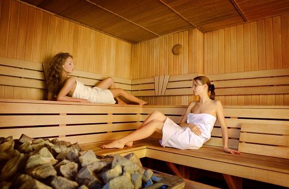 sauna oxygen