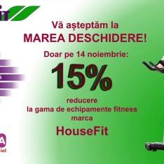 Deschiderea oficială a magazinului HouseFit
