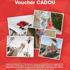 Magazinul Ecco te așteaptă cu vouchere cadou de 100 Ron!