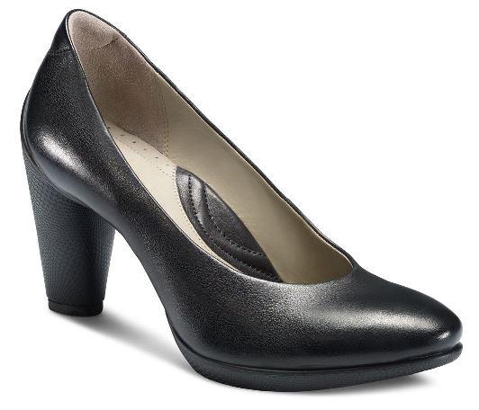 Pantofi eleganti dama ECCO Sculptured 75 (Negri)