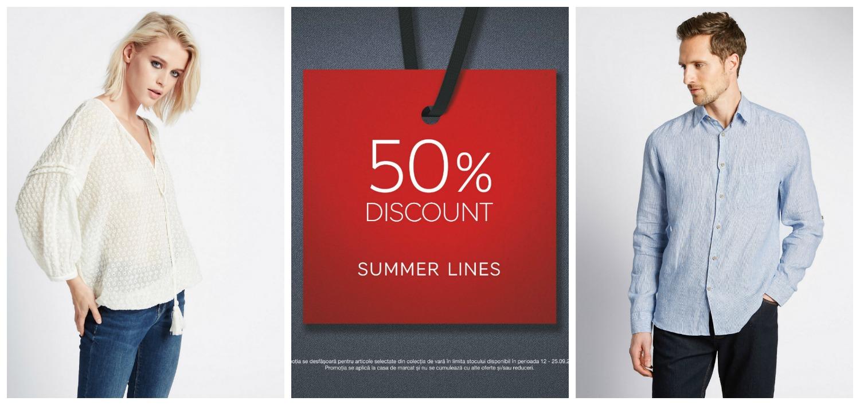50-discount-summer-lines-m&s-iasi