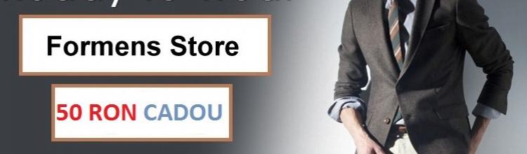 Formens Store: voucher CADOU de 50 lei