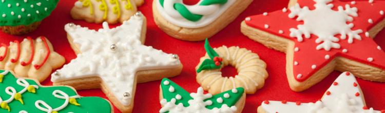 Prăjituri creative de Crăciun