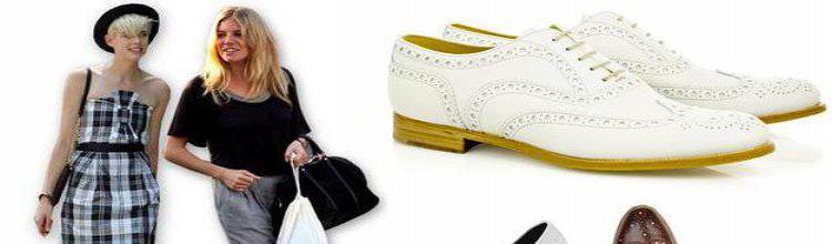 Cum poţi integra pantofii masculini în ţinute feminine