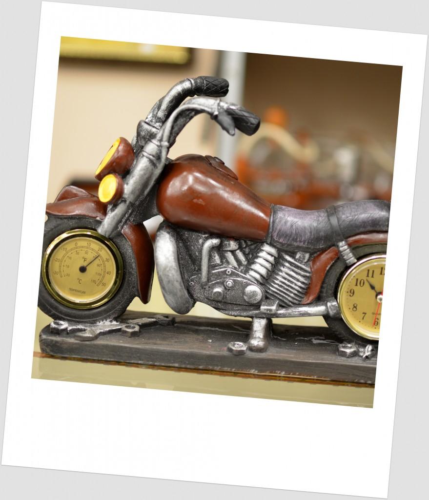 motocicleta decorativa